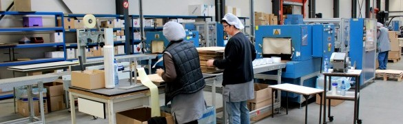 Werkplek voor mensen met een beperking
