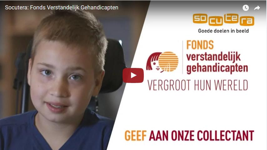 Video goede doelen in beeld: Fonds verstandelijk gehandicapten