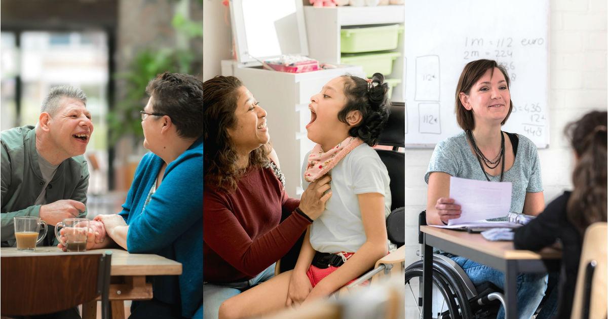 Diverse doelgroepen van HandicapNL