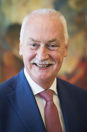 Dr. J.W.A. van Dijk, Burgemeester van de gemeente Barneveld