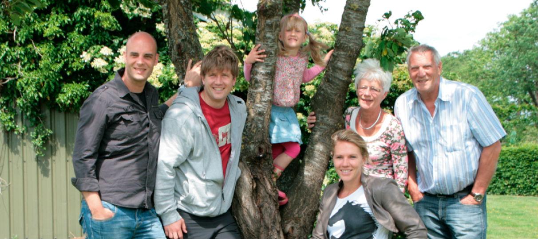 Familiefoto Esther Vergeer.