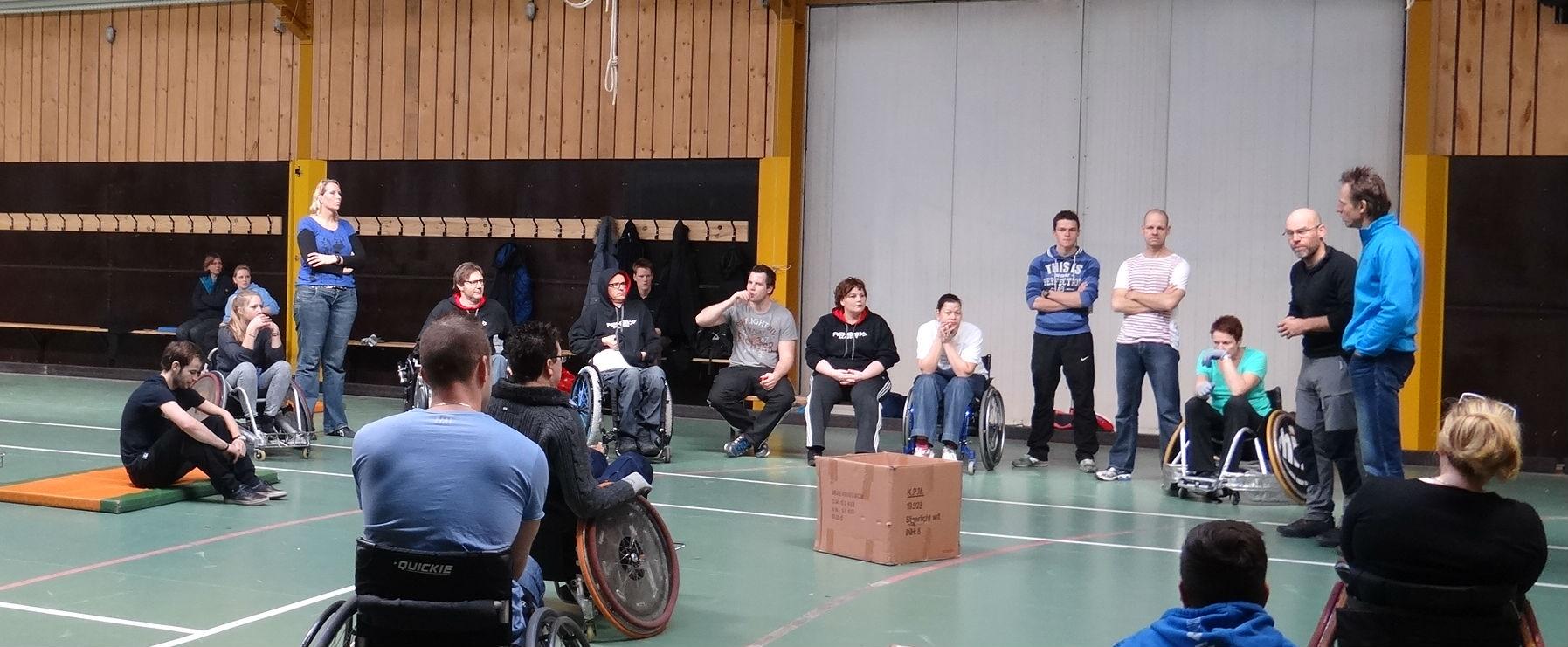 samen leren omgaan met een handicap