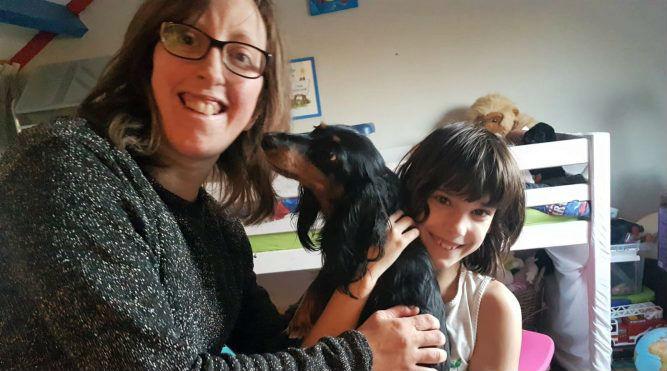 Dorina, Aranka en haar hond