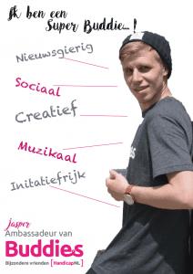 De poster van Super Buddie Jasper