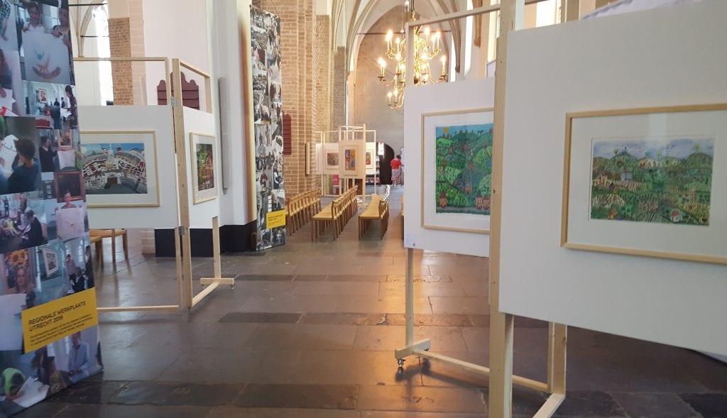 Expositie Special Award 2019 in Nicolaikerk in Utrecht