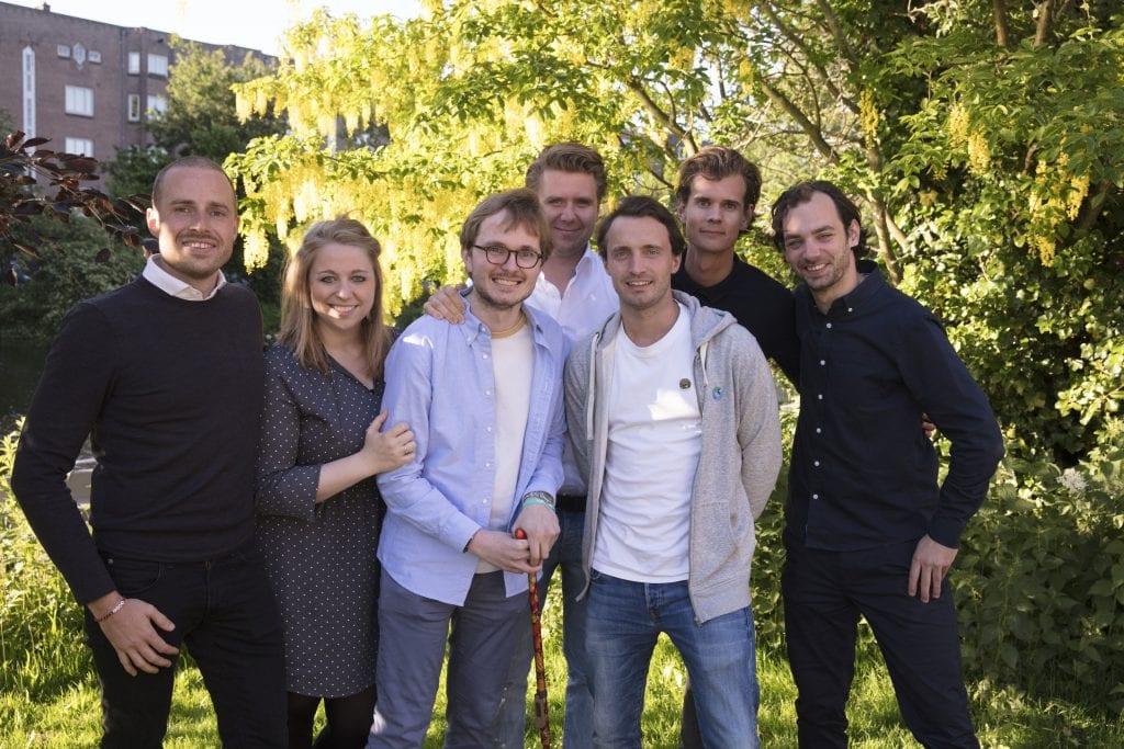 Daan Theeuwes en zijn vrienden