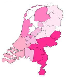 Regio-kaart [Buddies]