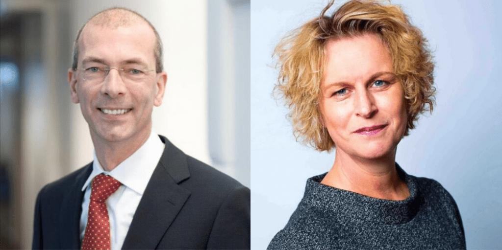 Jan Sebel en Wilma Gorissen-van Heusden zijn de nieuwe leden in de Raad van Toezicht van HandicapNL. © LinkedIn-pagina's Jan Sebel & Wilma Gorissen