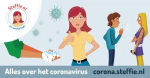 Steffie legt corona uit