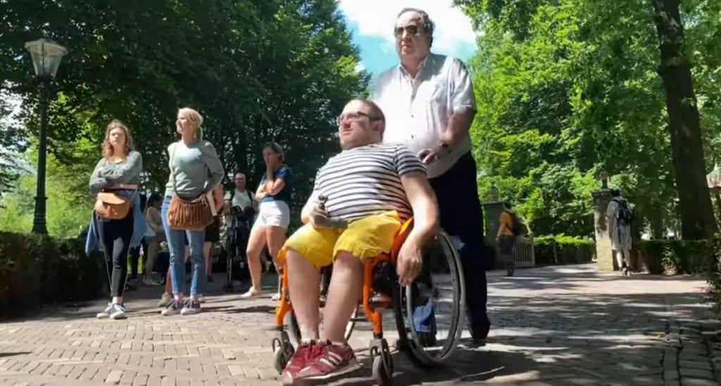 Een bezoek aan de Efteling in de rolstoel.