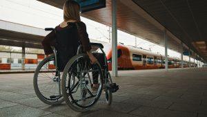 Met een handicap in het openbaar vervoer