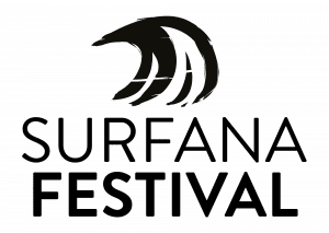 Logo Surfana Festival zwart