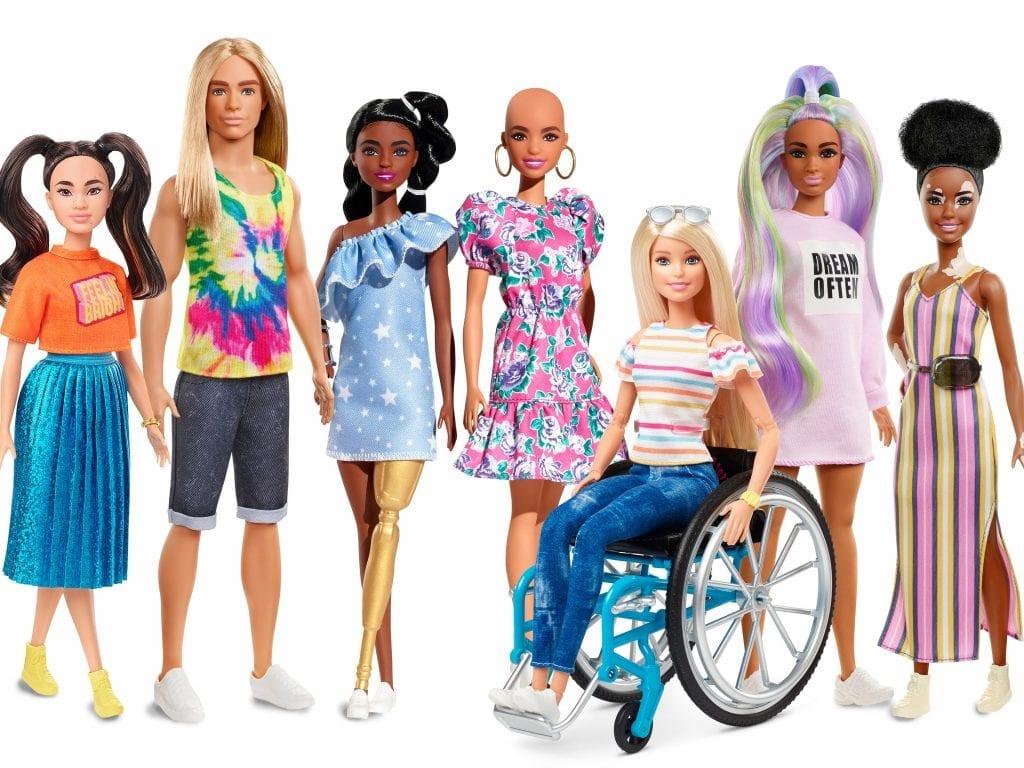 Barbie inclusieve serie
