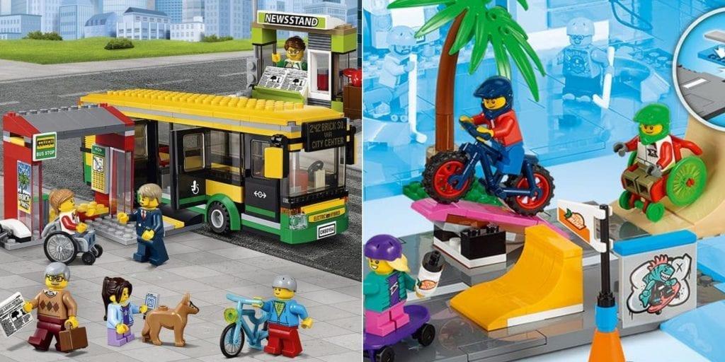 Inclusief speelgoed Lego